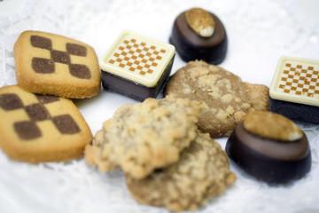 verschiedene Kekse (Gebäckmischung)