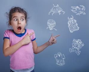 teen girl six years phobia afraid of monsters childish fear info