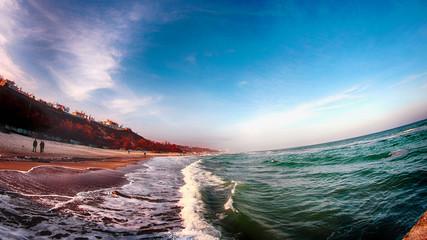 Пляж в Одессе HDR