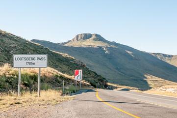 Lootsberg Pass between Graaff Reinet and Middelburg in South Afr