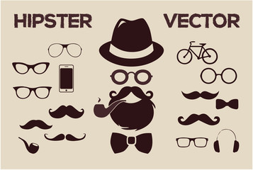 Hipster vintage fashion vector 2015