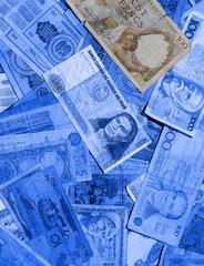 billets de banque,monnaie,mondialisation