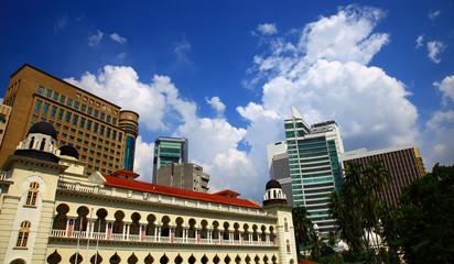 Jamek Mosque, Kuala Lumpur.