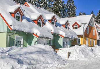 Häuser im Harz