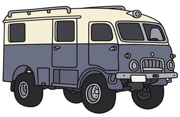 Old terrain adventure personal wagon