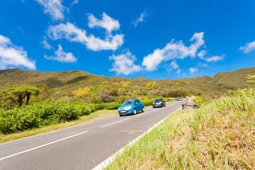 route des Plaines, col de Bellevue, île Réunion
