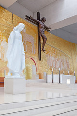 Sanctuary of Fatima. Basilica of Most Holy Trinity interior