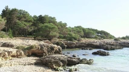 Scogli e mare della costa salentina