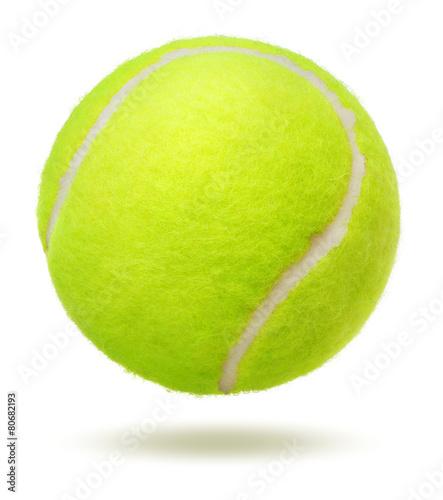 Fotobehang Persoonlijk tennis ball
