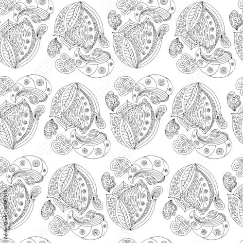 zen-doodle seamless © alisa