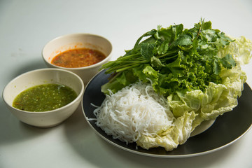 Thai spicy sauce  with vegetables