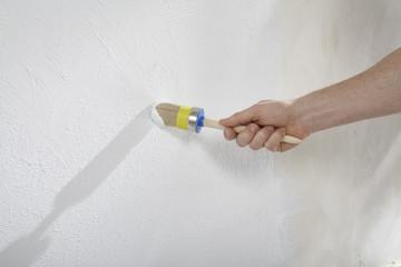 Wände mit Farbe und Putz gestalten und Strukturieren