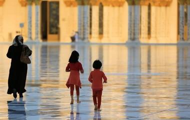 Moschee Kinder