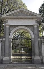 Puerta del Jardín Botánico de Madrid