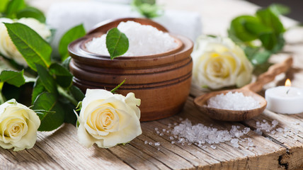 Natural Spa Treatment of Roses