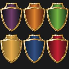 Golden shield color