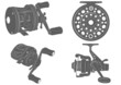 fishing reel icon - 80696141