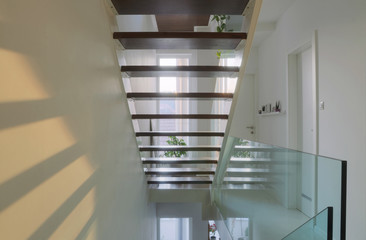 see trough stairs
