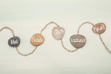 Psychologie: Mut, Glück, Vertrauen, Kraft und Freude