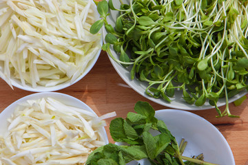 organic ecological vegan food