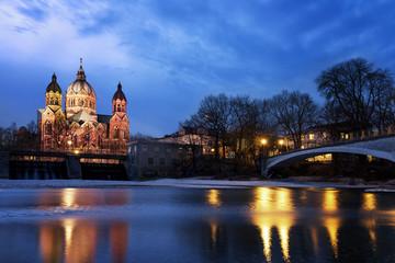 St. Luke Church in Munich, Germany