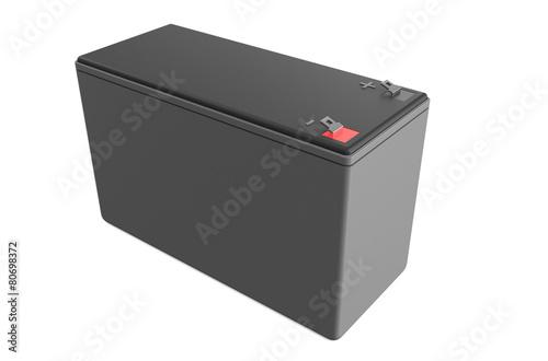 Leinwanddruck Bild Sealed UPS battery