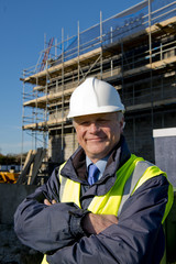 Smiling Property Developer / Building Contractor