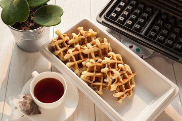 Tea Time with Waffle afternoon