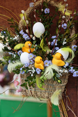 Close up of Easter decoration