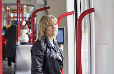 The female passenger