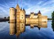 The chateau (castle) of Sully-sur-Loire, France