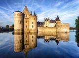 The chateau (castle) of Sully-sur-Loire, France - Fine Art prints