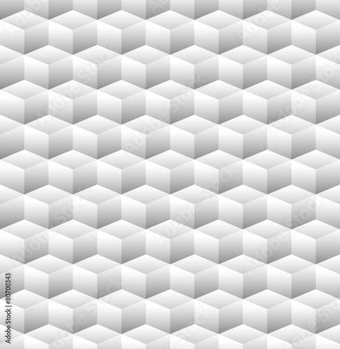 3D Cubes Seamless Pattern - 80700343