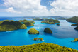 Palau islands from above