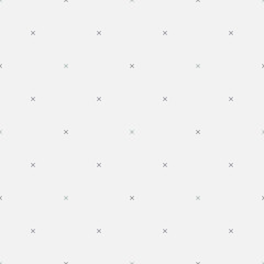 Seamless soft minimalistic geometric pattern with cross