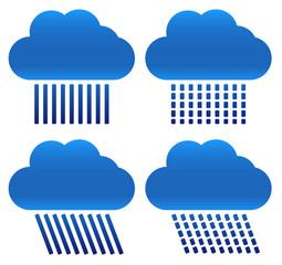 Different Raincloud Symbols