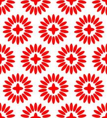 Simple Floral Pattern (Repeatable)