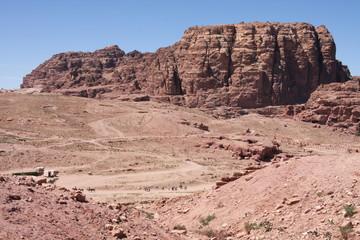 Im Tal von Petra, Jordanien