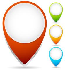 Map Marker, Map Pin Graphics