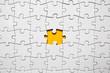 Leinwanddruck Bild - Jigsaw puzzle