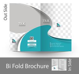Tax Center Tri-Fold Mock up & Brochure Design