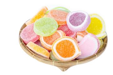 Sweet jelly sugar.