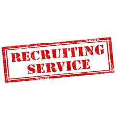Recruiting Service-stamp