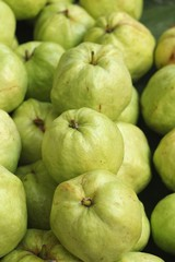 Guava fruit at the market