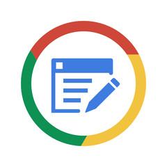 Vector Chrome Icon