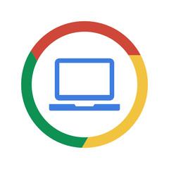 Vector Chrome Button