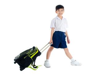Asian school kid