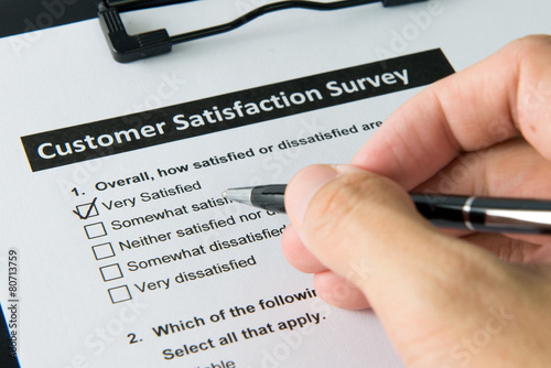 Customer satisfactory survey - 80713759