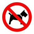 No dogs sign - 80714734