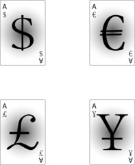 Four aces currency